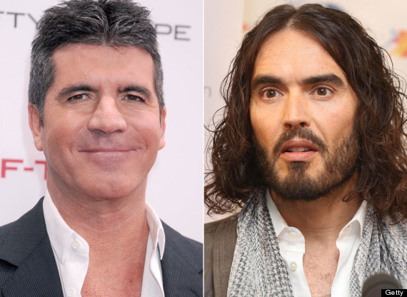 simon cowell russell brand