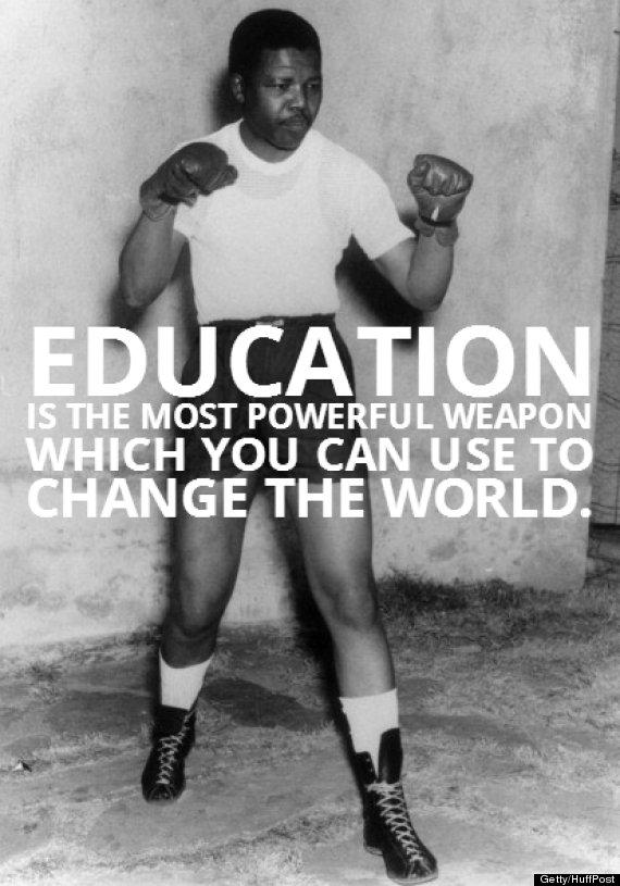 Nelson Mandelas 5 Most Inspiring Quotes Photos Huffpost Canada