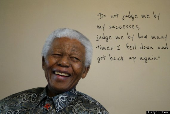 Nelson Mandelas 5 Most Inspiring Quotes Photos Huffpost Canada