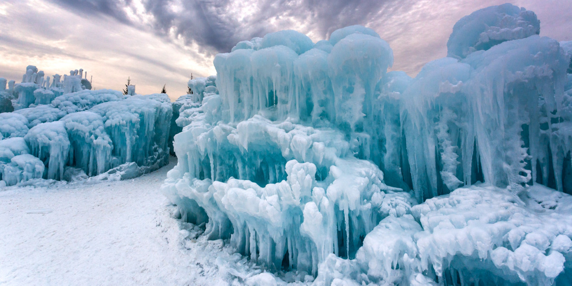 These Ice Castles Make All Other Castles Irrelevant Huffpost