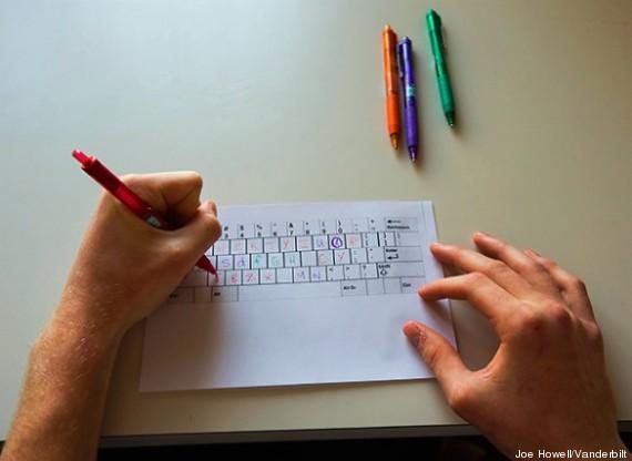 test clavier