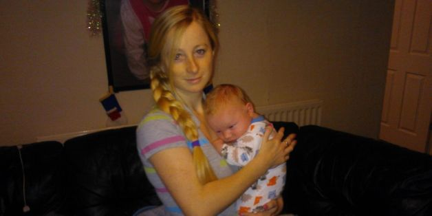 Yvonne Walsh and her nine-month-old son Harry, who were found dead at their home