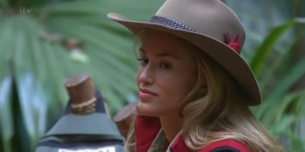 Amy Willerton in I'm A Celebrity