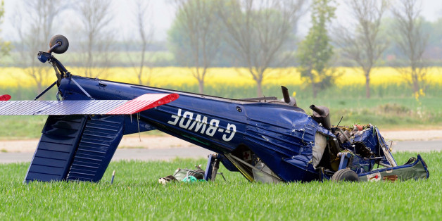 The light aircraft that crashed at Hinton-in-the-Hedges airfield, near Brackley, injuring Ukip candidate Nigel Farage and the plane's pilot.