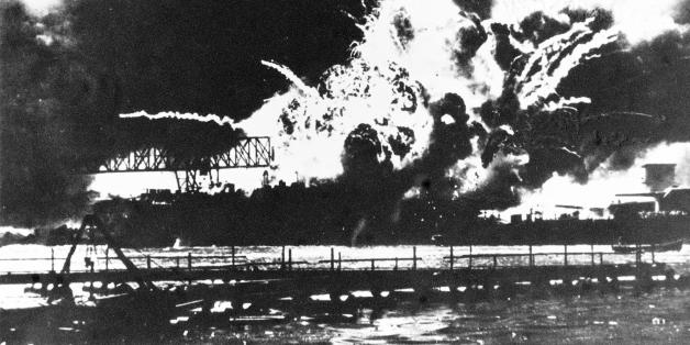 07/12/1941 - On this Day in History - The Japanese High Seas Fleet launches a devestating, unannounced, attack on the American Fleet at Pearl Harbour. They sink 6 top-line battleships and hundreds of smaller vessels are either sunk or badly damaged. But the main target, the Six American Carriers, are out at sea on manouvers and escape unscatched. Several months later, at the Battle of Midway, those same carriers wreak a terrible revenge for Pearl Harbour.  DECEMBER 7th: The forward magazine of t