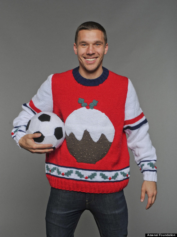 arsenal christmas jumper