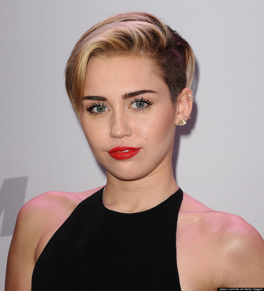hair short Miley cyrus