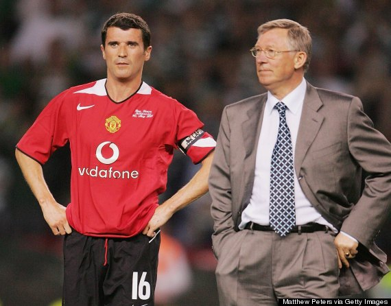 roy keane sir alex ferguson