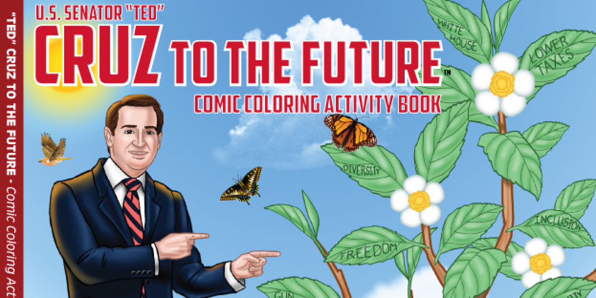 Ted Cruz To The Future Is Probably The Greatest Holiday Gift Ever