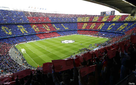 barcelona leave camp nou
