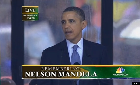 obama mandela speech