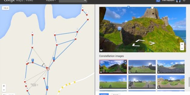 The tool has a simple interface designed to make it easy to make Google Street View maps