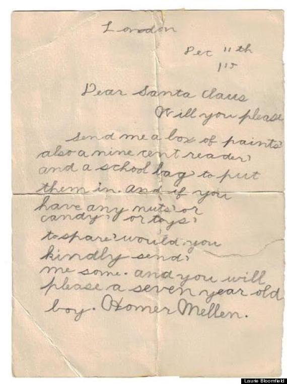 1915 christmas letter