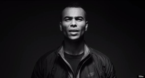 ashley cole nike advert
