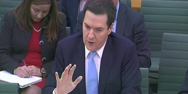 Chancellor of the Exchequer George Osborne answers questions on the subject of the Autumn Statement in front of the Commons Treasury Select Committee in Portcullis House, central London.