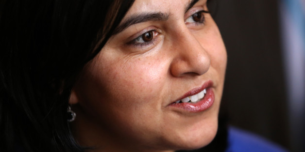 Baroness Warsi during a reception to mark the 50th anniversary of the Disasters Emergency Council held at Lancaster House in central London.