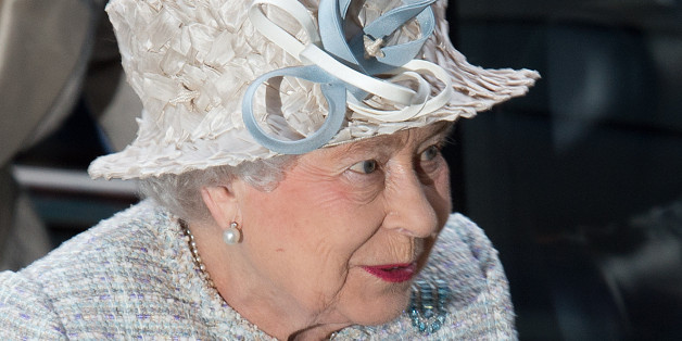 Police 'warned off the Queen's nuts'