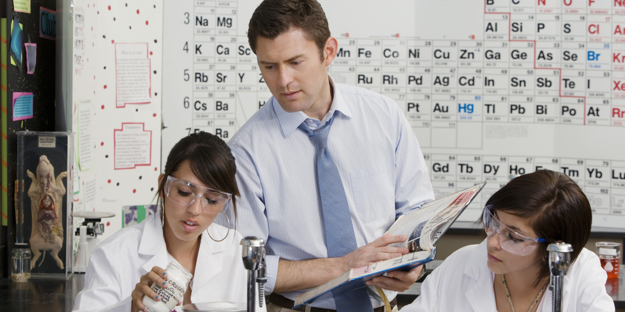 Dating a teacher in high school