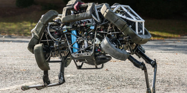 Boston Dynamics' four-legged robot named WildCat