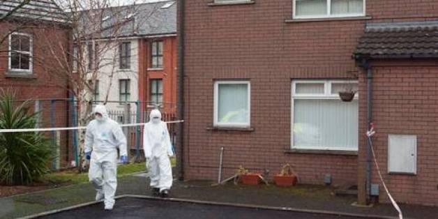 Scene of killings in Belfast
