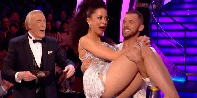 Natalie Gumede on Strictly Come Dancing