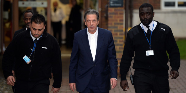 File photo dated 28/11/13 of Charles Saatchi leaving Isleworth Crown Court in London, where the trial of sisters Elisabetta 'Lisa' and Francesca Grillo (right), the former personal assistants to Mr Saatchi and Nigella Lawson is being held.