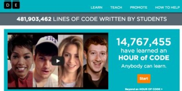 15 Million Students Learned to Program This Week, Thanks to Hour of Code