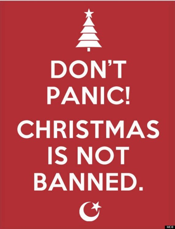 We really dont want to ban christmas muslims insist huffpost uk xmas m4hsunfo