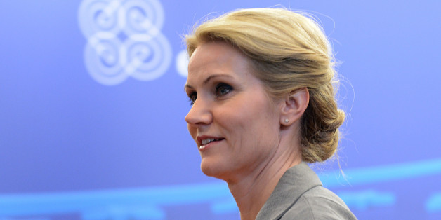 Danish Prime Minister  Helle Thorning-Schmidt leaves after the European Union leaders summit on June 28, 2013 at the EU headquarters in Brussels. European leaders on Friday agreed to deploy 8.0 billion euros ($10.4 billion) to help create jobs for young people at a summit that also backed a tentative deal on the EU's next trillion-euro budget, despite simmering doubts.  AFP PHOTO / THIERRY CHARLIER        (Photo credit should read THIERRY CHARLIER/AFP/Getty Images)