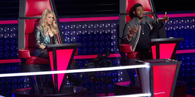 Usher And Shakira Return For 'The Voice' Season Six