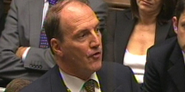 Simon Hughes MP speaks in the House of Commons after Prime Minister David Cameron made a statement on phone hacking.