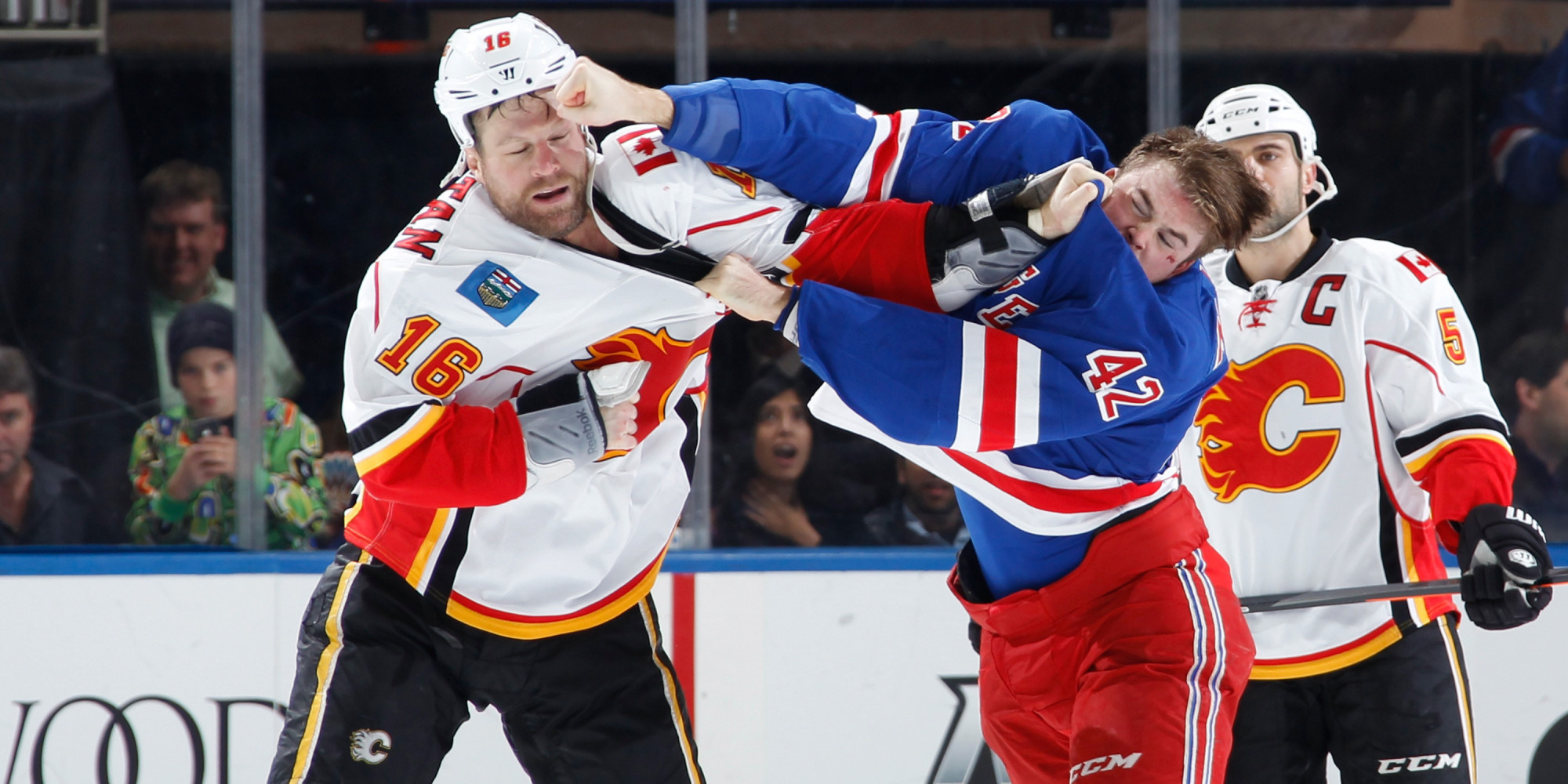an argument in favor of fighting in hockey