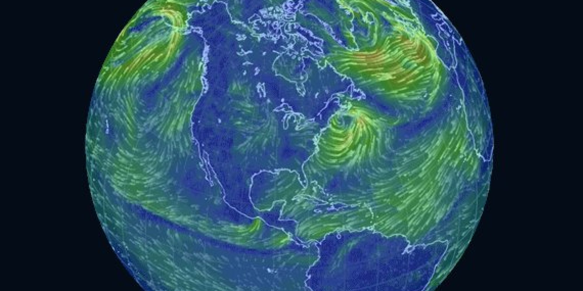 This Trippy Map Of Global Wind Patterns Is A Massive Time Suck