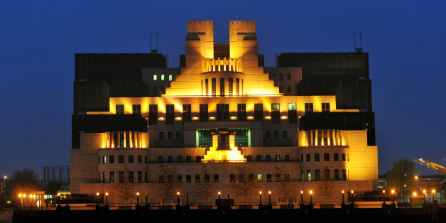 General view of the Secret Intelligence Service building in Vauxhall, London.