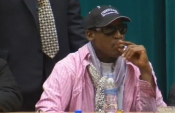 dennis rodman nba north korea