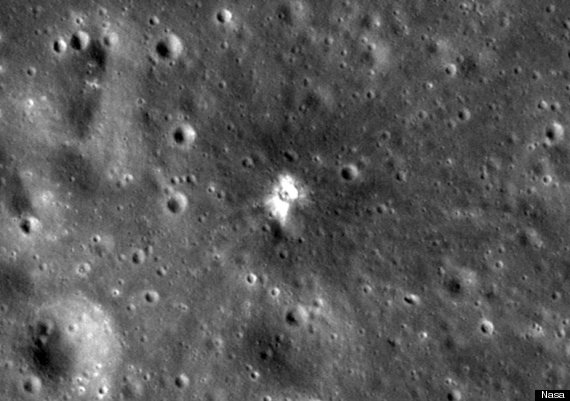 The Moon Has A New Crater (VIDEO)