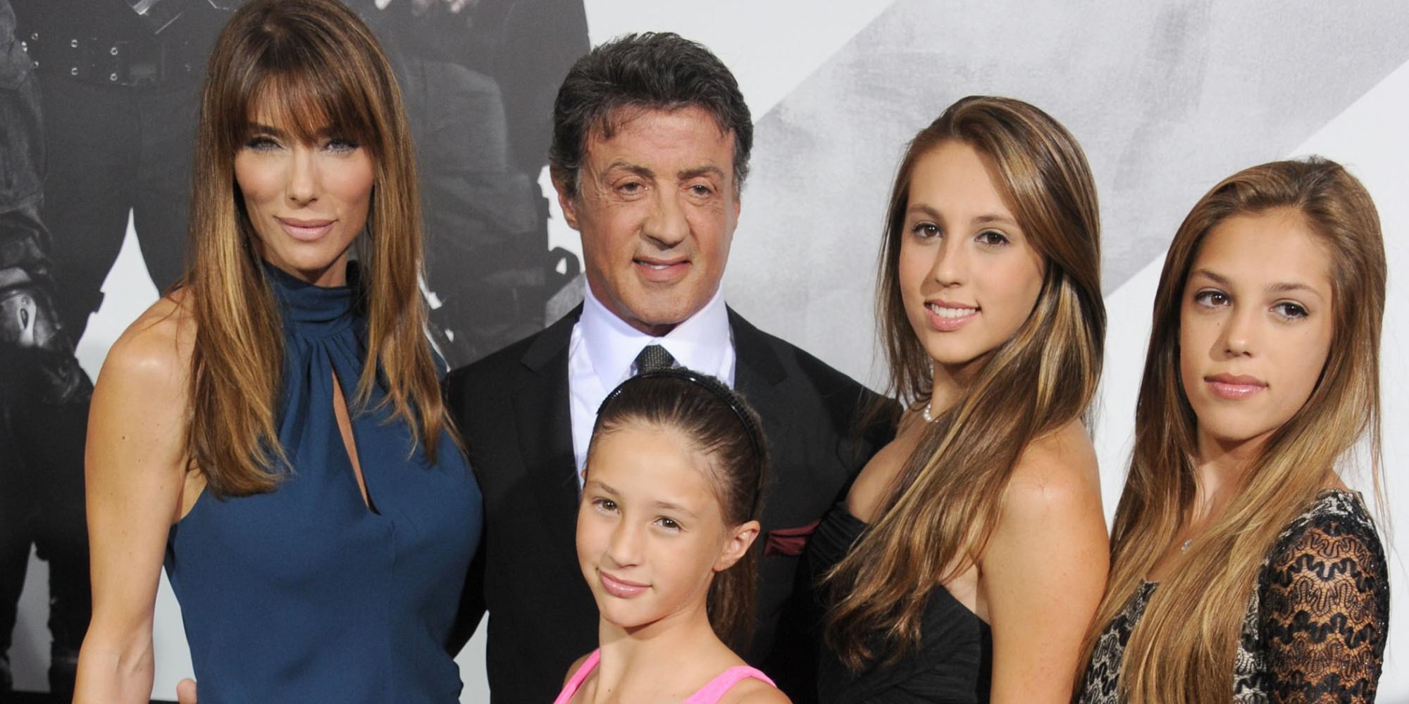 Сильвестр сталлоне фото его детей