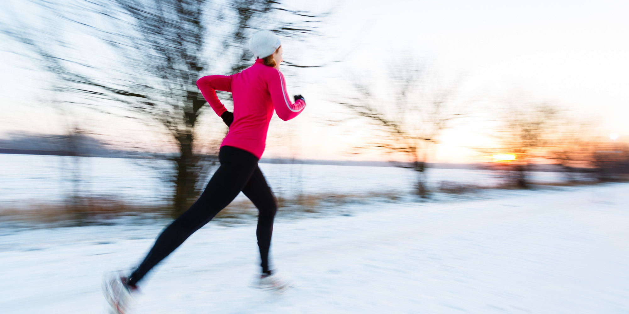 what to wear jogging in winter