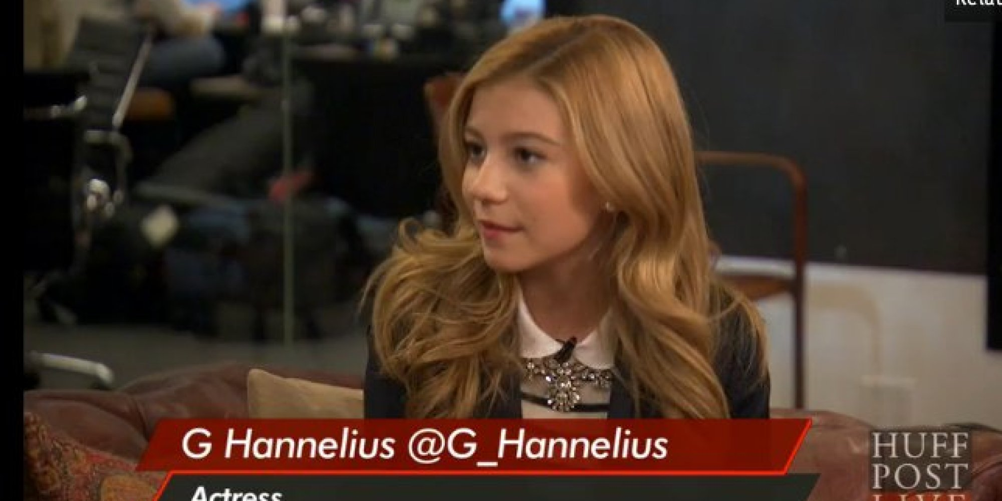 (We got an exclusive interview with G Hannelius and)