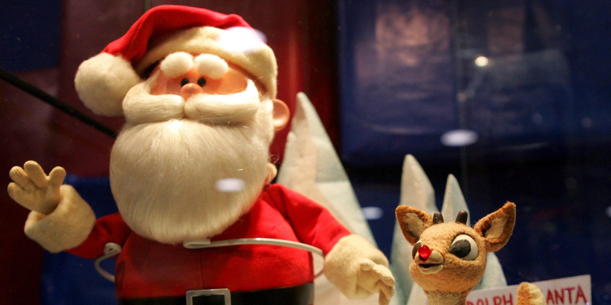 antiques roadshow appraises original claymation models of rudolph and santa found in attic video huffpost - Rudolph And Santa