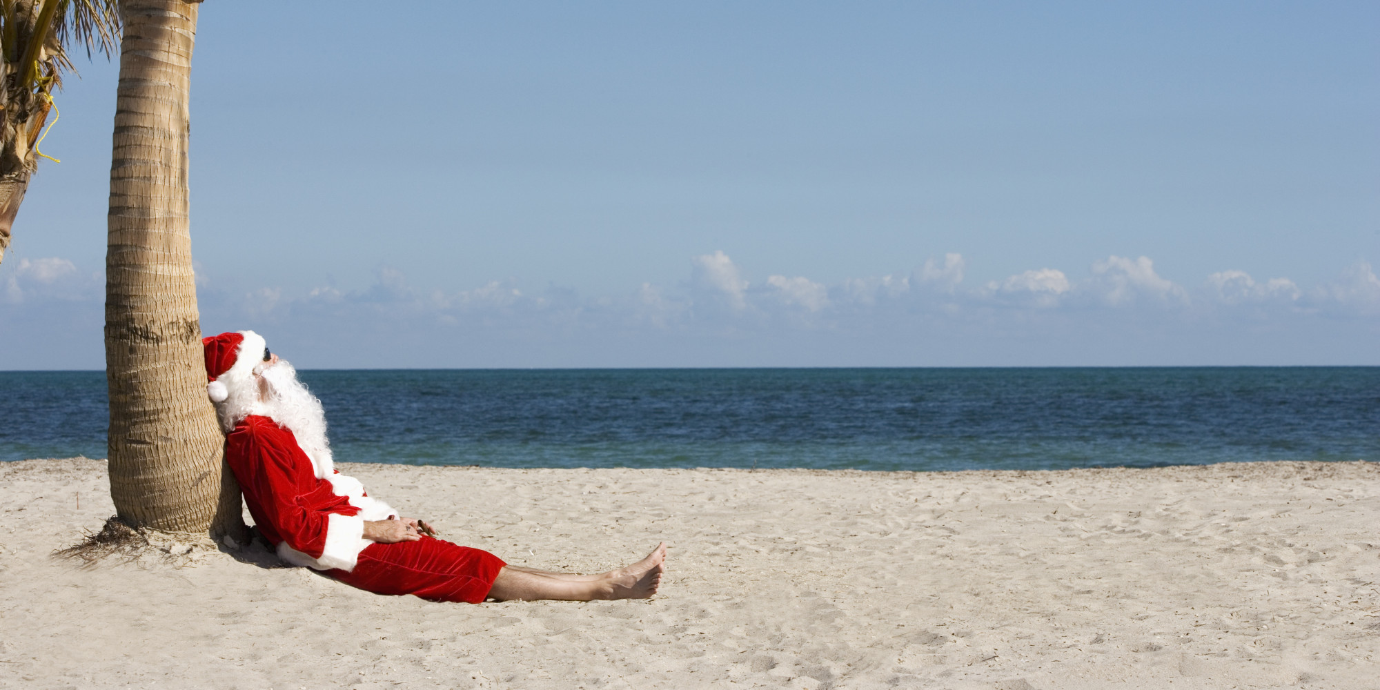 it really is insanely warm this christmas in miami according to