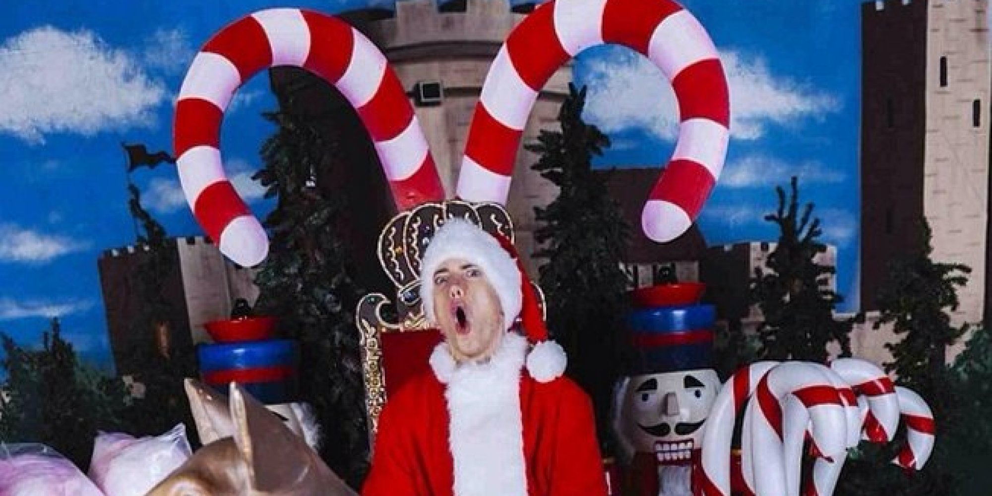 Eminem's Take On Christmas Is Exactly What You'd Expect From ...
