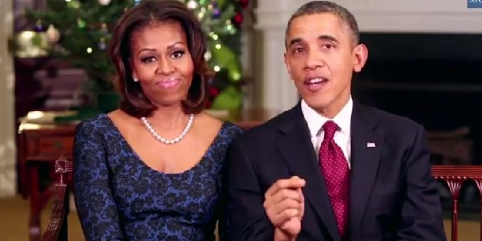 Obama Christmas Address Encourages Americans To Help Those In Need ...