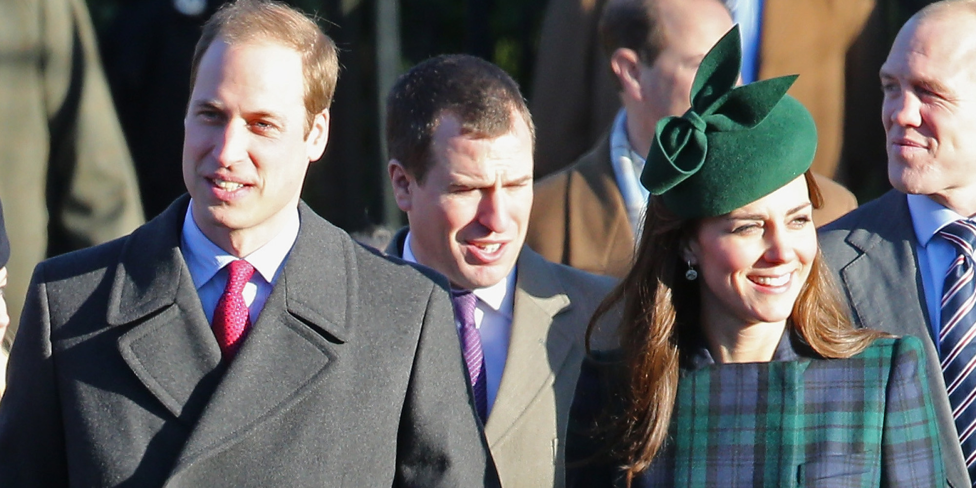 Kate Middleton Repeats Tartan Coat At Sandringham For