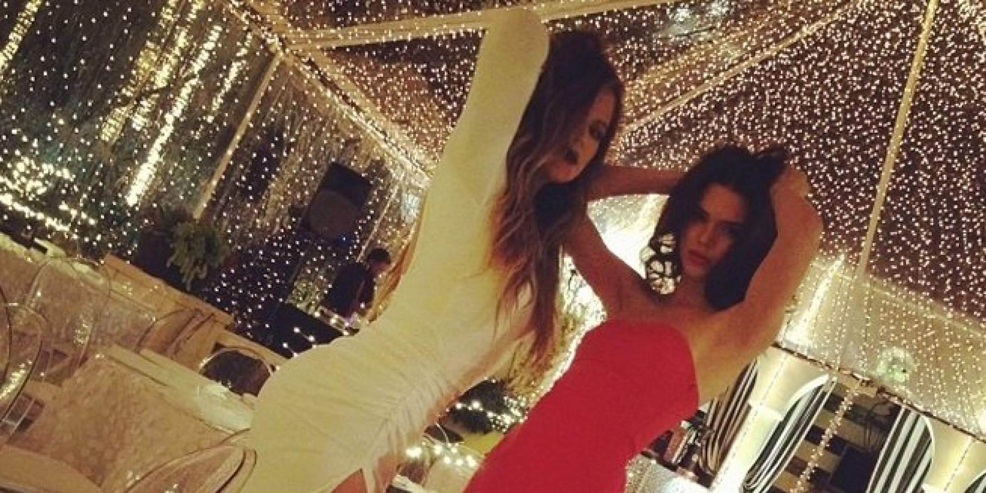 The Kardashians' Christmas Eve Party Was Quite The Glamorous ...