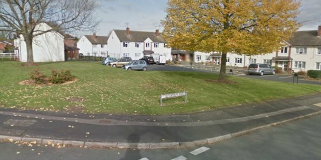 The man's body was found at the junction of Shakespeare Road and Wordsworth Avenue on the Highfields estate in Stafford