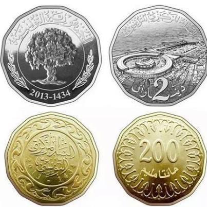 monnaie tunisie