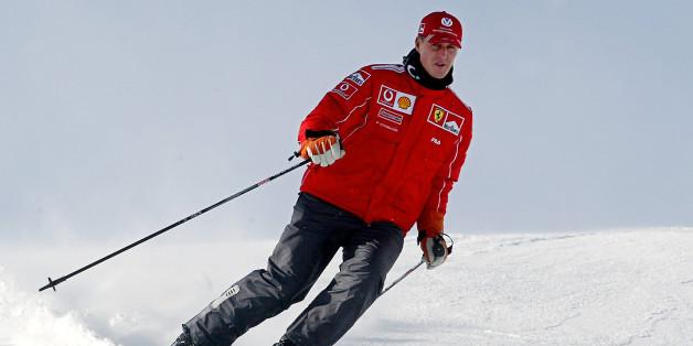 Michael Schumacher gravement blessé dans un accident de ski à Méribel (photo datant de 2004)