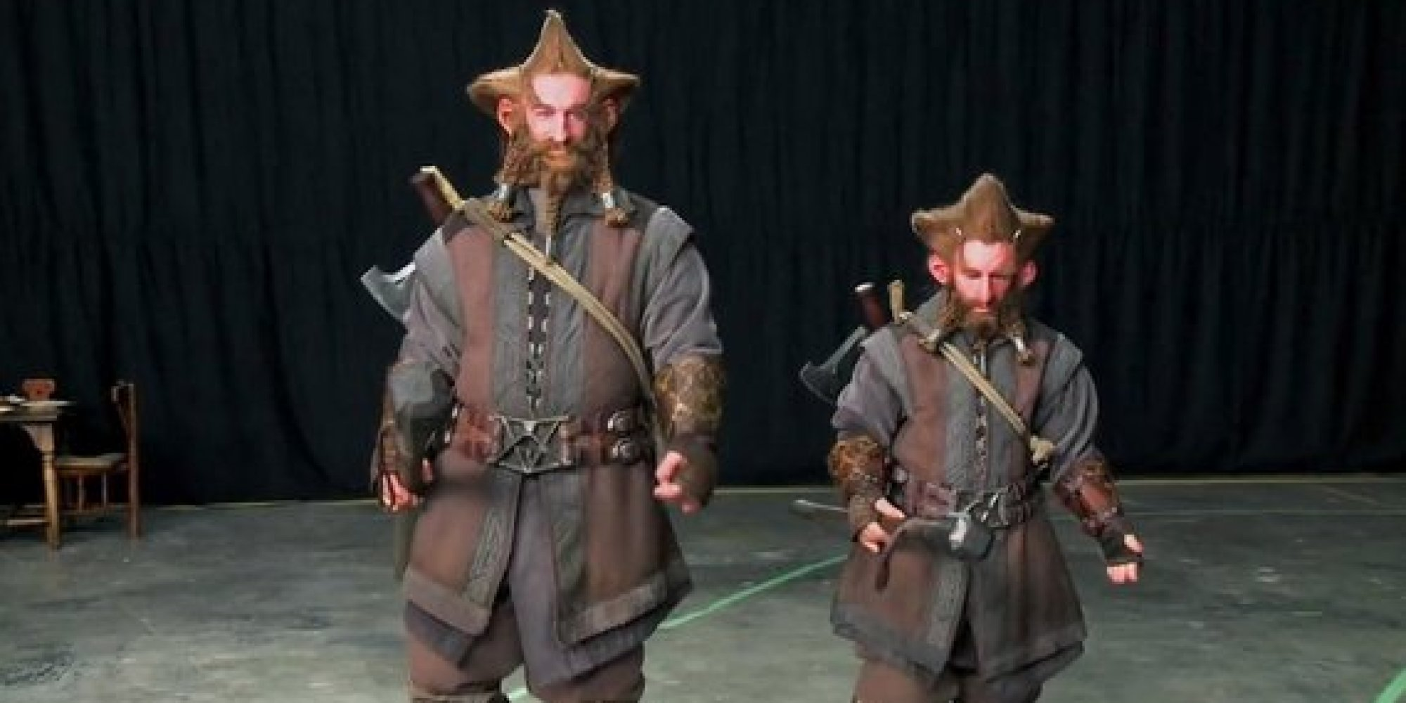 These Photos Of 'The Hobbit' Scale Doubles Are Just Precious | HuffPost