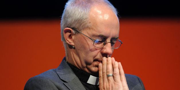 Archbishop of Canterbury the Most Reverend Justin Welby deep in thought during the National Housing Federation's annual conference at the ICC in Birmingham.